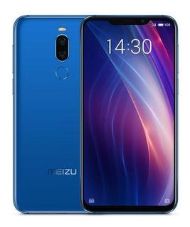 Meizu X8 4/64 Azul + Brindes