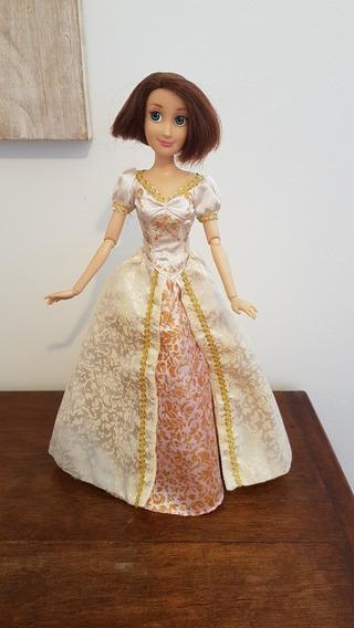 Boneca Barbie Rapunzel Enrolados Noiva Disney Store