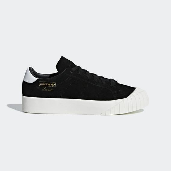 Zapatillas Everyn Damas adidas Moda 2019 Salida Cuero
