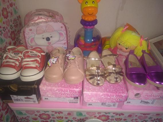 Lote De Calçados Infantis N20