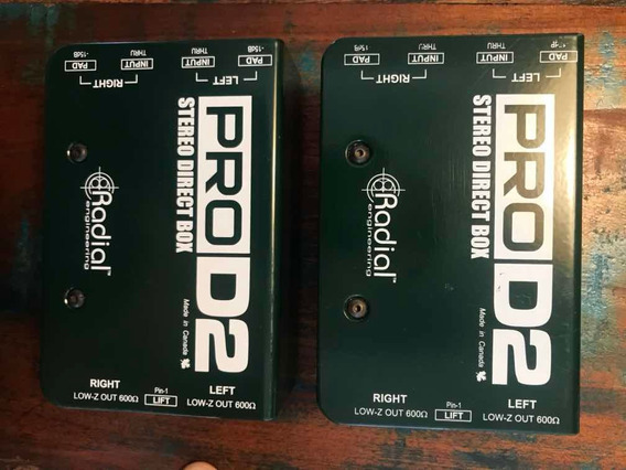 Direct Box Radial Pro D2
