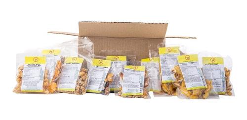 Imagem 1 de 10 de Kit Caixa Com 20 Snacks - Aprovados Pela Nutricionista - Top