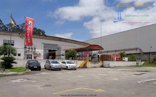 Imagem 1 de 10 de Galpões Para Alugar  Em Jandira/sp - Alugue O Seu Galpões Aqui! - 1437882