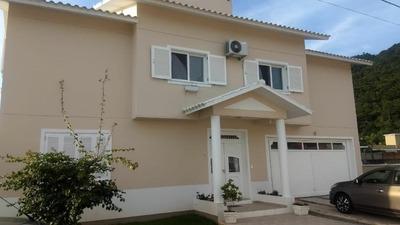 Casa Em Ponta Das Canas, Florianópolis/sc De 304m² 5 Quartos À Venda Por R$ 950.000,00 - Ca182085