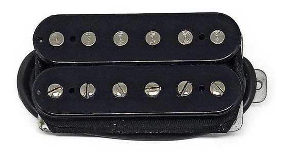 Captador Malagoli Standard Hb4 Preto Para Ponte Guitarra
