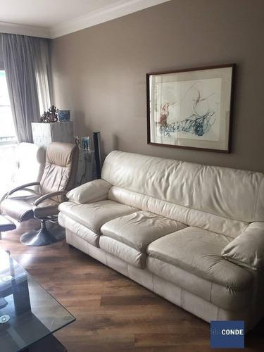 Imagem 1 de 15 de Apartamento Para Comprar Em Moema Com 3 Quartos - Ap23308 - Ap23308
