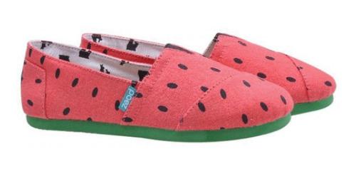 Zapatos Dama Paez Shoes Modelo Sandía - Tallas 37 Al 40