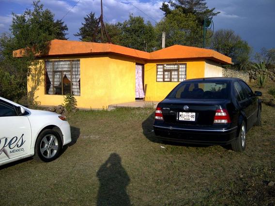 Terreno Campestre Atlacomulco Casa Pequeña Todos Servicio