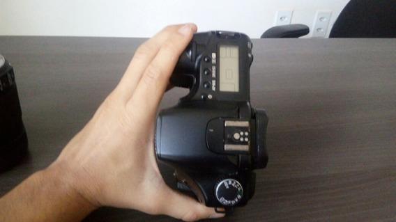 Camera Canon Eos 30d + Lente 18-135mm