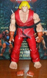 Muñeco Neca Original Capcom Street Fighter 4 Sf Iv Ken