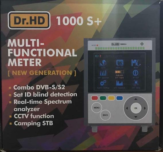 Buscador De Satélites Dr. Hd 1000 S+, Analizador De Espectro