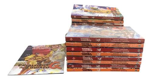 Coleção Cavaleiros Do Zodíaco Fase G Vol 1 E Do 3 Ao 18