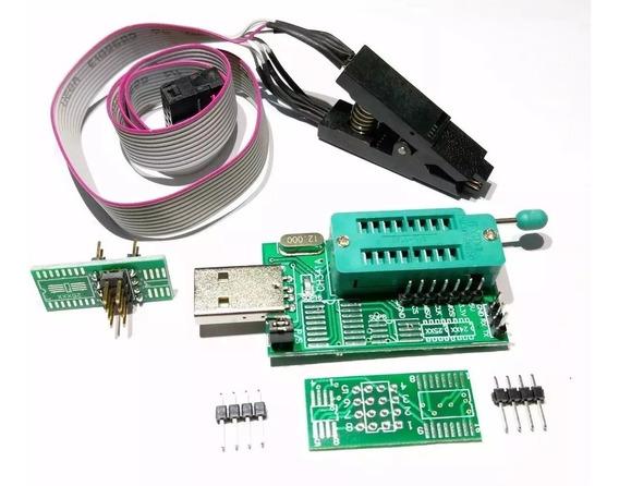 Programador Ch341 + Pinza Soic Tecnopedido