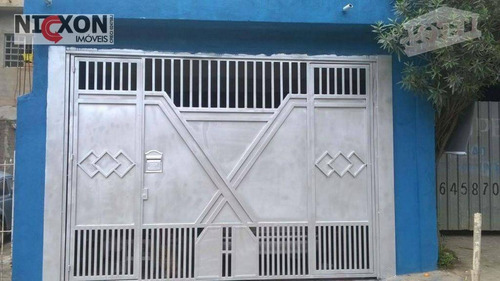 Imagem 1 de 10 de Casa Térrea 100m² Vila Rio De Janeiro Para Venda - Ca0239
