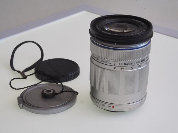 R$ 499 Teleobjetiva Zoom Olympus 40-150mm M4/3 Mft