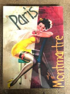 Litografia Paris Montmartre Cabaret