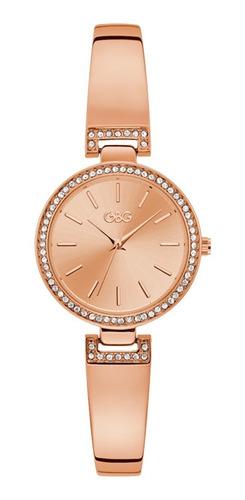 Reloj G By Guess Aria Dama G89125l1 Oro Rosa