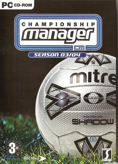 Championship Manager Cm 03/04 Atualizado 2019