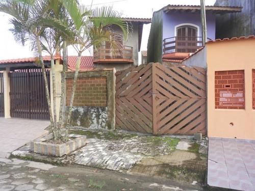 Imagem 1 de 4 de Casa Para Venda Em Mongaguá, 2 Dormitórios, 2 Banheiros, 4 Vagas - 204_1-1171711