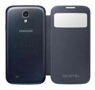 Capa Case Flip Cover S-view Samsung Galaxy S4 + Película