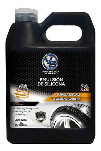 Emulsion De Silicona Vs 1lt