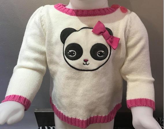 Blusa E Touca Panda Gymboree Bebê