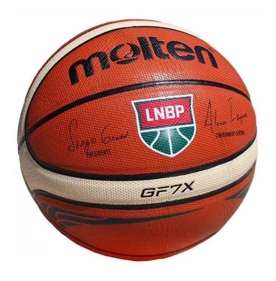Balón De Basquetbol Molten Gf7x Lnbp Oficial ¡envío Gratis!