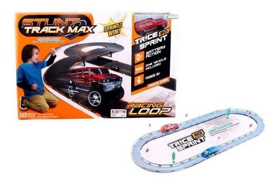 Brinquedo Pista Automotiva Stunt Track Max