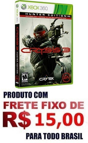 Jogo Xbox 360 Crysis 3 Hunter Edition Europeu Sistema Pal