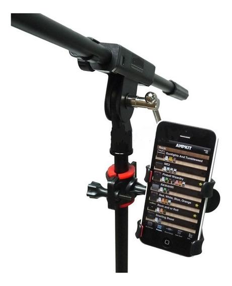 Suporte Celular Pedestal Microfone Gravação Cifra E Letra