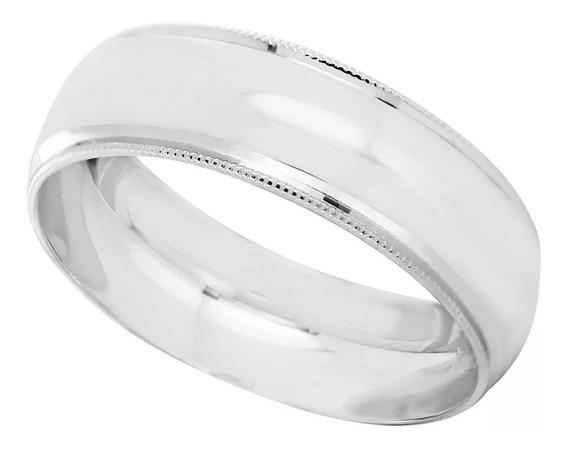 Par Argollas Matrimoniales Plata Pura 925