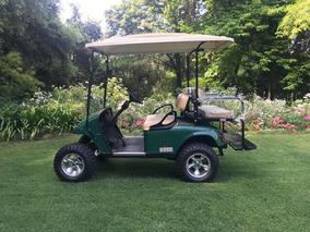 Espectacular Carrito De Golf Para 4 Pasajeros