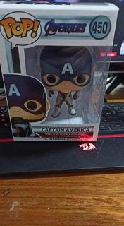 Capitán América Símil Funko Figura De Coleccion