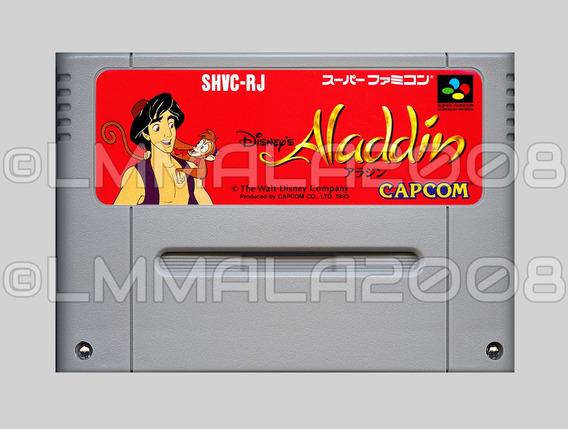 Original Aladdin Portugues Ou Ingles Snes Super Nintendo