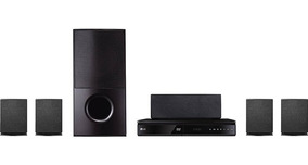 Home Theater Wireless Full Hd Bluetooth 1000wrms Lg Lhd625