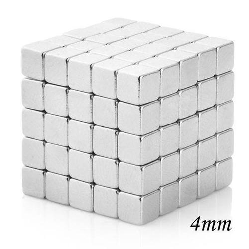 Cubo Magico Magnético 216 Imanes 4mm Puzzle Aprenda Jugando