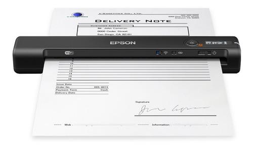 Escáner Portatil Epson Inalámbrico Documentos Digitalizador