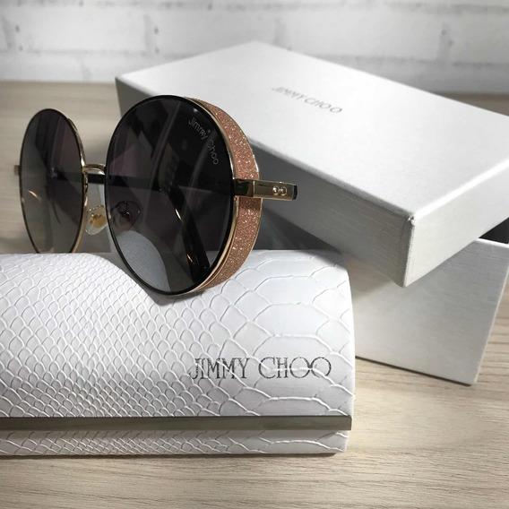 Promoção | Óculos De Sol Jimmy Choo Redondo