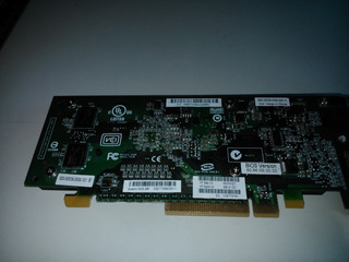Server Video Pci Express 8x Quadro Nvs290 Sincable Vga 256 M