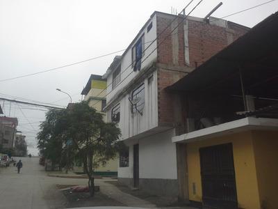 Casa Villa El Salvador At 140m2 Ac 130m2 Incluye Local