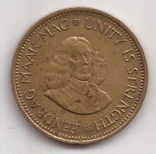 Sudafrica Moneda De 1/2 Cent Año 1962