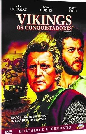 Dvd Vikings, Os Conquistadores, Kirk Douglas, Tony Curtis  +