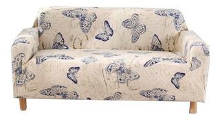 Cobertor Sillón Sofá Elástico 2 Cuerpos / Mitiendacl