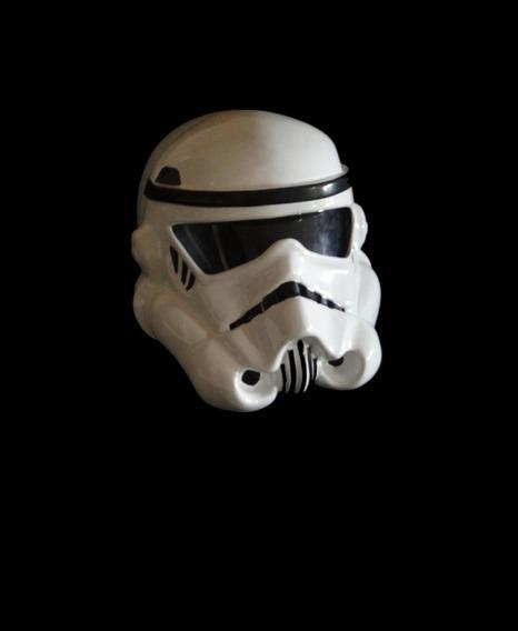 Capacete Stormtrooper Star Wars - Ouro Fibras