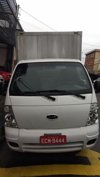 Kia Bongo 2011 Com Bau De Aluminio Impecavel