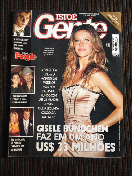 Revista Isto É Gente N°412 - Gisele Bundchen, Maurren Maggi