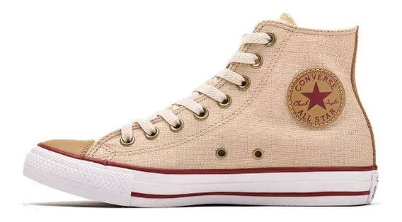 Zapatillas Converse Chuck Taylor All Star Ct Linen Hi (7074)