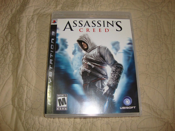 Assassins Creed Black Label Americano Completo Para Ps3