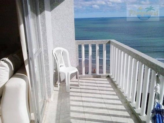 Praia De Pitangueiras,prédio Frente Ao Mar,garagem,varanda Com Linda Vista Ao Mar, Centrinho!!! - Ap1587
