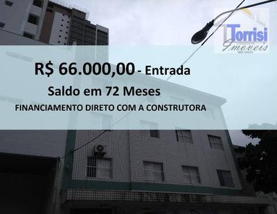 Apartamento Em Praia Grande, 02 Dormitórios, No Bairro Boqueirão, Ap1859 - Ap1859